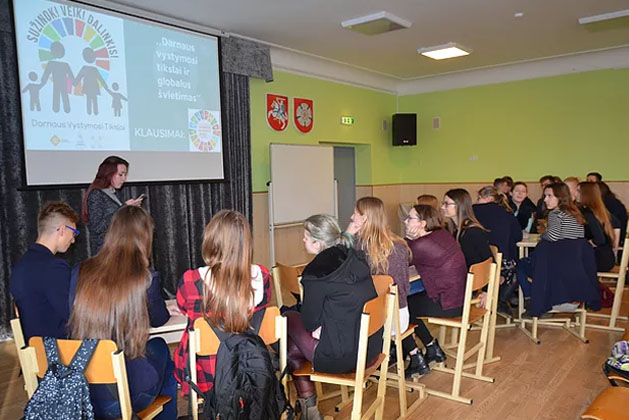 NGDO Platform finds innovative ways to engage Lithuanians on the SDGs