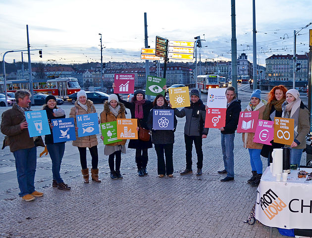 Raising Awareness on the SDGs in Prague