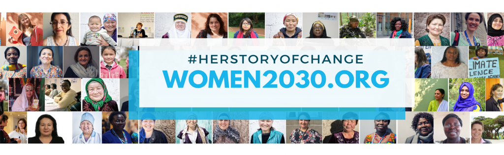 Launch website Women2030