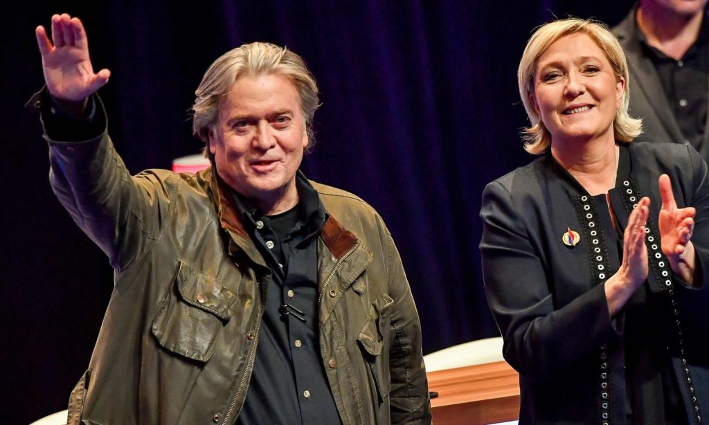 Steve Bannon plans foundation to fuel far right in Europe