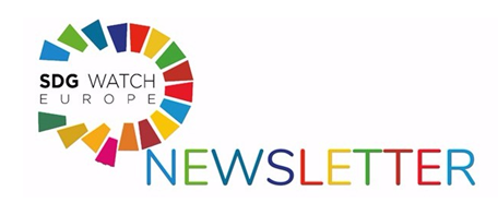 NEWSLETTER FROM THE SDG WATCH EUROPE NETWORK –  October 2018