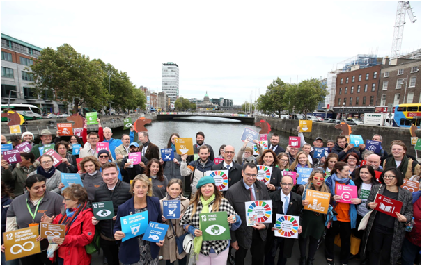 #Act4SDGs – Dublin: Rally hears calls for greater progress by Ireland on UN goals