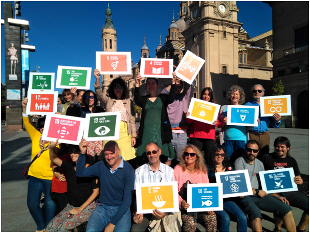 #Act4SDGs – Spain: Global Day of Action in Zaragoza