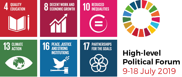 HLPF 2019 Side Events by SDGWE, GCAP and Partners