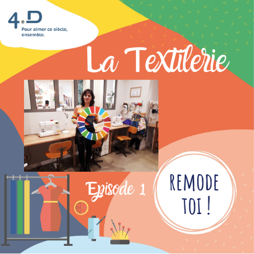 Launch of 4D podcast for wardrobe change campaign: Remode-Toi!