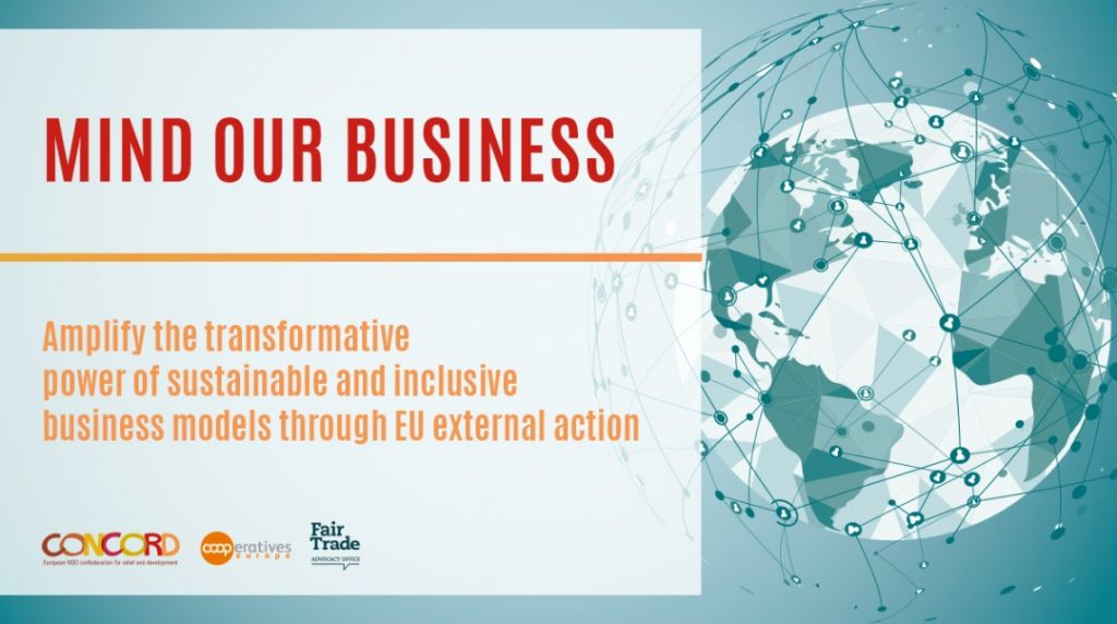 """""""Mind our business"""": joint report on sustainable and inclusive business models"""