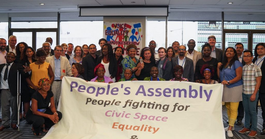 SDG Watch Europe will host the European Assembly as part of the Global People's Assembly, from 21 to 23 September 2021
