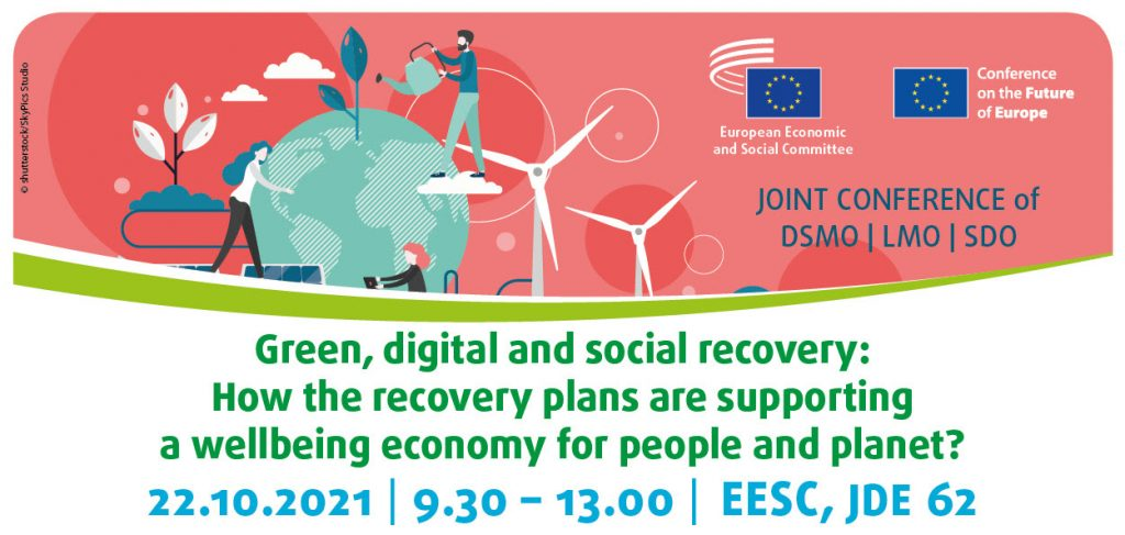 Green, digital and social recovery: How the recovery plans are supporting a wellbeing economy for people and planet?